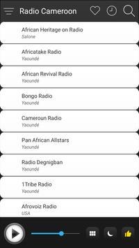 Cameroon Radio Stations Online - Cameroon FM AM screenshot 2