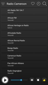 Cameroon Radio Stations Online - Cameroon FM AM screenshot 3