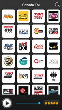 Canada Radio Stations Online - Canada FM AM Music poster