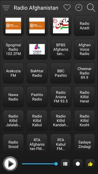 Afghanistan Radio Stations Online - Afghan FM AM screenshot 1