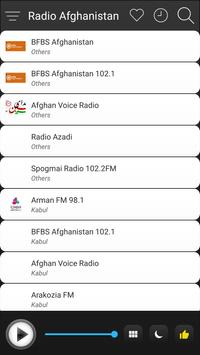 Afghanistan Radio Stations Online - Afghan FM AM screenshot 2