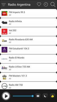 Argentina Radio Stations Online - Argentina FM AM screenshot 2