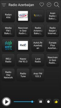 Azerbaijan Radio Station Online - Azerbaijan FM AM screenshot 1