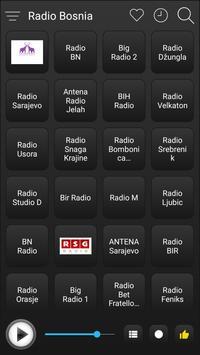Bosnia Radio Stations Online - Bosnia FM AM Music screenshot 1