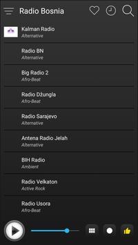 Bosnia Radio Stations Online - Bosnia FM AM Music screenshot 3