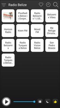 Belize Radio Stations Online - Belize FM AM Music poster
