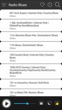 Blues Radio Stations Online - Blues FM AM Music screenshot 2