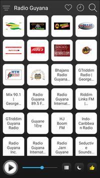 Guyana Radio Stations Online - Guyana FM AM Music poster
