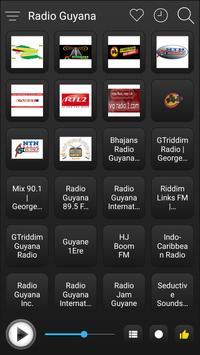 Guyana Radio Stations Online - Guyana FM AM Music screenshot 1