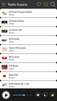 Guyana Radio Stations Online - Guyana FM AM Music screenshot 2