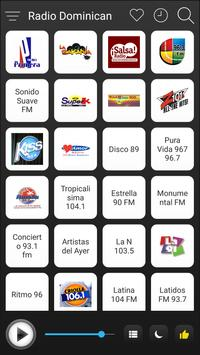 Dominican Radio Stations Online - Dominican FM AM poster