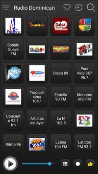 Dominican Radio Stations Online - Dominican FM AM screenshot 1