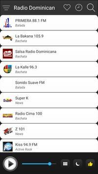Dominican Radio Stations Online - Dominican FM AM screenshot 2
