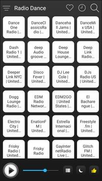 Dance Radio Stations Online - Dance FM AM Music poster