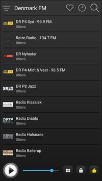 Denmark Radio Stations Online - Danish FM AM Music screenshot 3