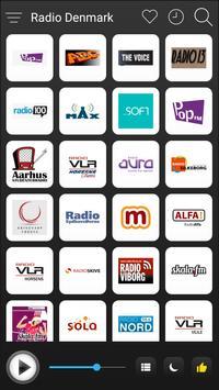 Denmark Radio Stations Online - Danish FM AM Music poster