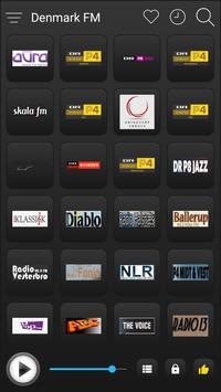 Denmark Radio Stations Online - Danish FM AM Music screenshot 1