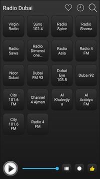 Dubai Radio Stations Online - Dubai FM AM Music screenshot 1