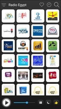 Egypt Radio Stations Online - Egypt FM AM Music poster