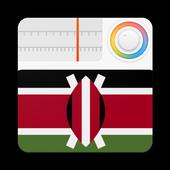 Kenya Radio Stations Online - Kenya FM AM Music icon