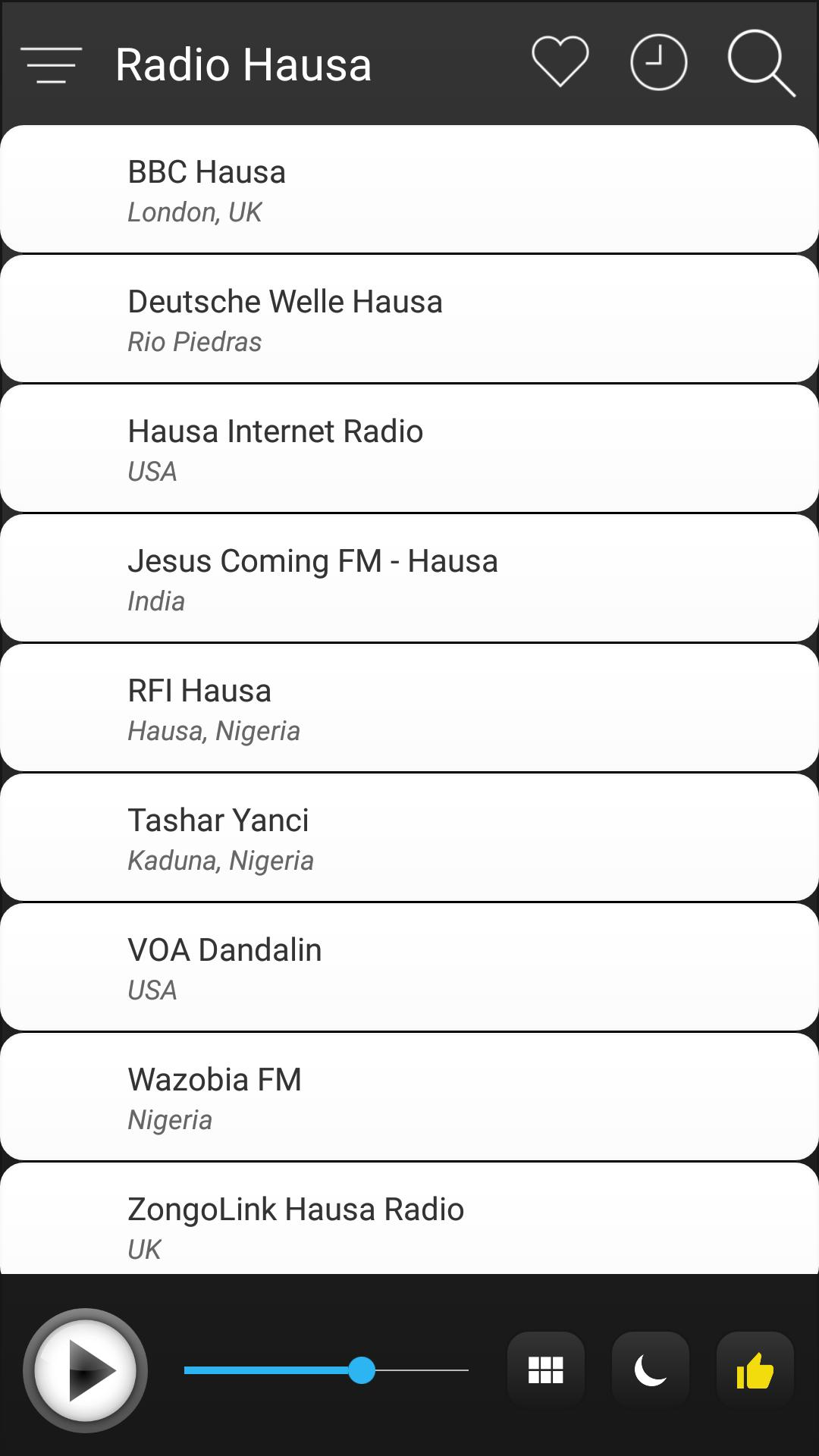Hausa Radio Stations Online - Hausa FM AM Music for Android - APK