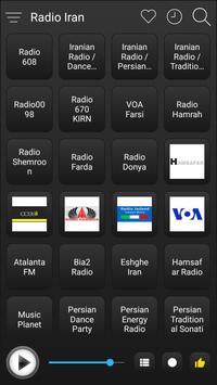 Iran Radio Stations Online - Iran FM AM Music screenshot 1