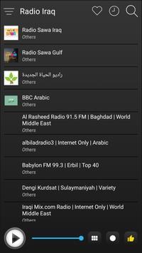 Iraq Radio Stations Online - Iraq FM AM Music screenshot 3