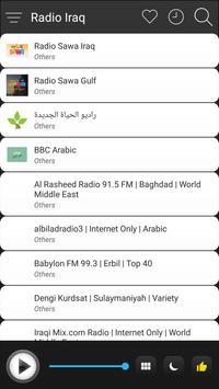 Iraq Radio Stations Online - Iraq FM AM Music screenshot 2