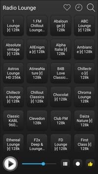 Lounge Radio Stations Online - Lounge FM AM Music screenshot 1