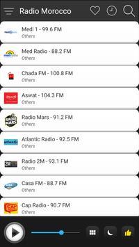 Morocco Radio Station Online - Morocco FM AM Music screenshot 2