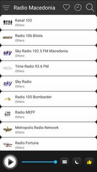 Macedonia Radio Stations Online - Macedonia FM AM screenshot 2