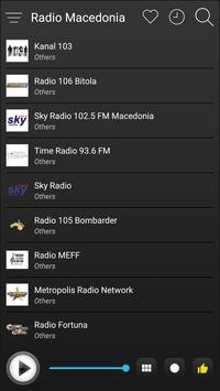 Macedonia Radio Stations Online - Macedonia FM AM screenshot 3