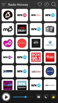 Norway Radio Stations Online - Norge FM AM Music poster
