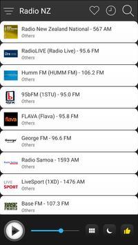 New Zealand Radio Stations Online - NZ FM AM Music screenshot 2