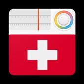 Switzerland Radio Stations Online - Swiss FM AM icon
