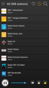 Switzerland Radio Stations Online - Swiss FM AM screenshot 3