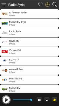Syria Radio Stations Online - Syria FM AM Music screenshot 2