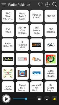 Pakistan Radio Stations Online - Pakistan FM AM poster