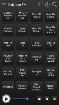 Pakistan Radio Stations Online - Pakistan FM AM screenshot 1