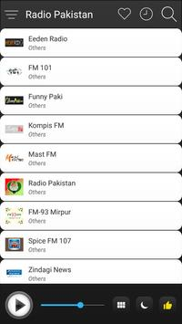 Pakistan Radio Stations Online - Pakistan FM AM screenshot 2