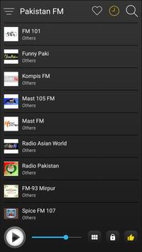 Pakistan Radio Stations Online - Pakistan FM AM screenshot 3