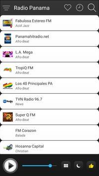 Panama Radio Stations Online - Panama FM AM Music screenshot 2