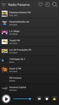 Panama Radio Stations Online - Panama FM AM Music screenshot 3