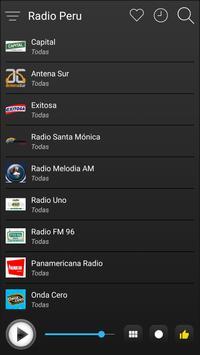 Peru Radio Stations Online - Peru FM AM Music screenshot 3