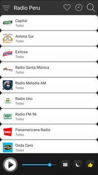 Peru Radio Stations Online - Peru FM AM Music screenshot 2