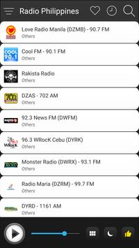 Philippines Radio Stations Online - Philippines FM screenshot 2
