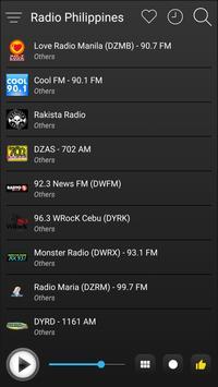 Philippines Radio Stations Online - Philippines FM screenshot 3