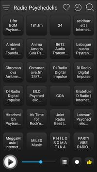 Psychedelic Radio Stations Online - Psychedelic FM screenshot 1