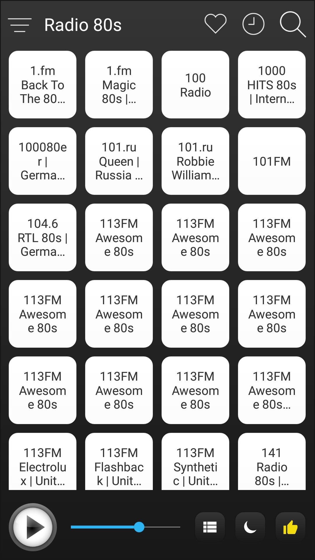 80s Radio Stations Online - 80s FM AM Music for Android