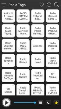 Togo Radio Stations Online - Togo FM AM Music poster